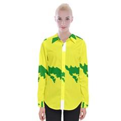 Flag Of Culebra Womens Long Sleeve Shirt