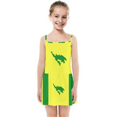 Flag Of Culebra Kids Summer Sun Dress