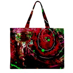 Bloody Coffee 5 Zipper Mini Tote Bag