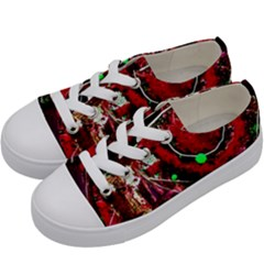 Bloody Coffee 5 Kids  Low Top Canvas Sneakers by bestdesignintheworld