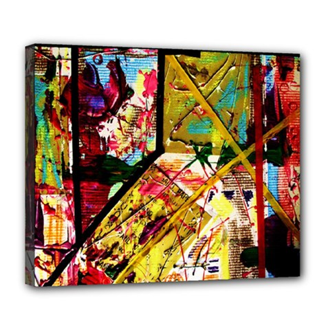 Absurd Theater In And Out Deluxe Canvas 24  X 20