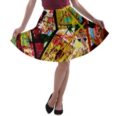 Absurd Theater In And Out A Line Skater Skirt