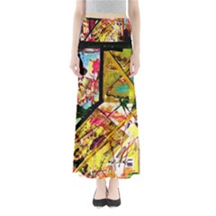 Absurd Theater In And Out Full Length Maxi Skirt