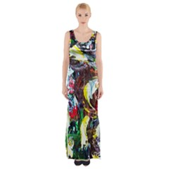 Eden Garden 12 Maxi Thigh Split Dress