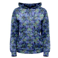 Modern Nature Print Pattern 7200 Women s Pullover Hoodie