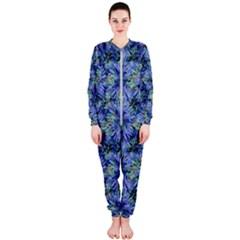 Modern Nature Print Pattern 7200 Onepiece Jumpsuit (ladies)