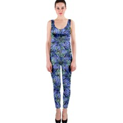 Modern Nature Print Pattern 7200 One Piece Catsuit by dflcprints