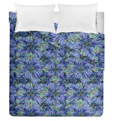 Modern Nature Print Pattern 7200 Duvet Cover Double Side (queen Size)