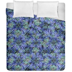 Modern Nature Print Pattern 7200 Duvet Cover Double Side (california King Size)