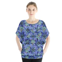 Modern Nature Print Pattern 7200 Blouse