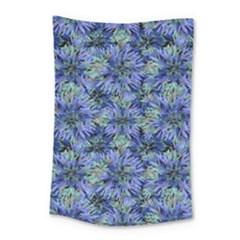 Modern Nature Print Pattern 7200 Small Tapestry