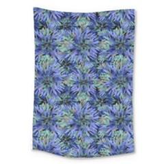 Modern Nature Print Pattern 7200 Large Tapestry