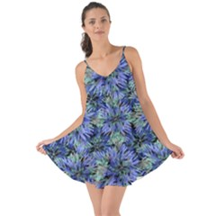 Modern Nature Print Pattern 7200 Love The Sun Cover Up