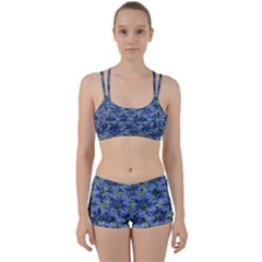 Modern Nature Print Pattern 7200 Women s Sports Set