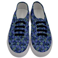 Modern Nature Print Pattern 7200 Men s Classic Low Top Sneakers