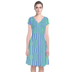 Pattern Factory 4181a Short Sleeve Front Wrap Dress