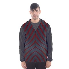 Ghost Gear   Red Tiaowen   Hooded Wind Breaker (men) by GhostGear