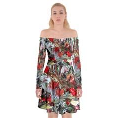 Eden Garden 11 Off Shoulder Skater Dress