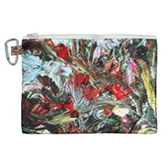 Eden Garden 11 Canvas Cosmetic Bag (xl)