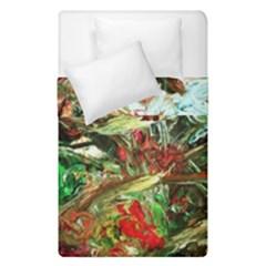 Eden Garden 8 Duvet Cover Double Side (single Size) by bestdesignintheworld