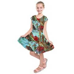 Eden Garden 7 Kids  Short Sleeve Dress