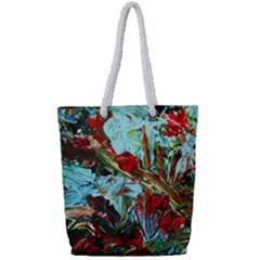Eden Garden 7 Full Print Rope Handle Tote (small)