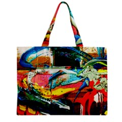 Aerobus Zipper Mini Tote Bag by bestdesignintheworld
