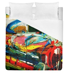 Aerobus Duvet Cover (queen Size)