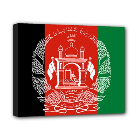 Flag Of Afghanistan Canvas 10  X 8