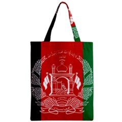 Flag Of Afghanistan Zipper Classic Tote Bag