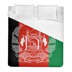 Flag Of Afghanistan Duvet Cover (full/ Double Size) by abbeyz71