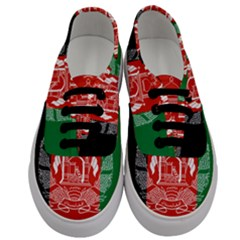 Flag Of Afghanistan Men s Classic Low Top Sneakers