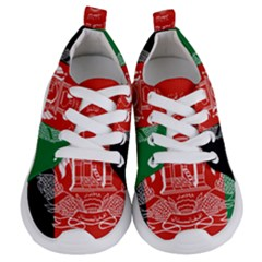 Flag Of Afghanistan Kids  Lightweight Sports Shoes