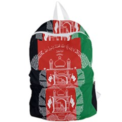 Flag Of Afghanistan Foldable Lightweight Backpack