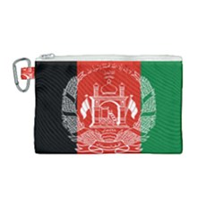 Flag Of Afghanistan Canvas Cosmetic Bag (medium)