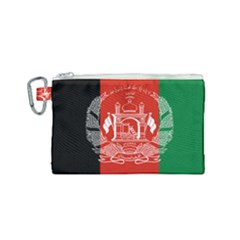Flag Of Afghanistan Canvas Cosmetic Bag (small)