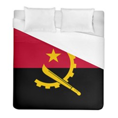 Flag Of Angola Duvet Cover (full/ Double Size)
