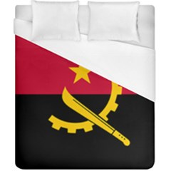 Flag Of Angola Duvet Cover (california King Size)