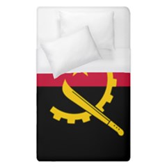 Flag Of Angola Duvet Cover (single Size)