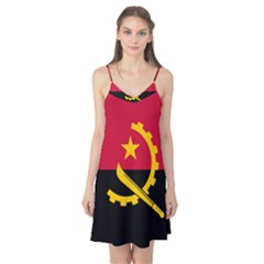 Flag Of Angola Camis Nightgown