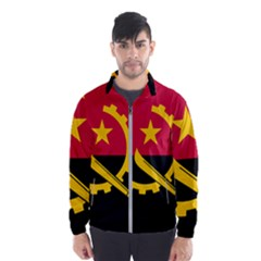 Flag Of Angola Wind Breaker (men)