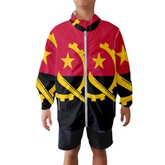 Flag Of Angola Wind Breaker (kids)