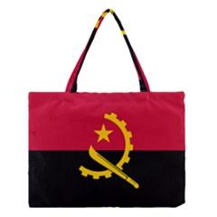 Flag Of Angola Medium Tote Bag by abbeyz71