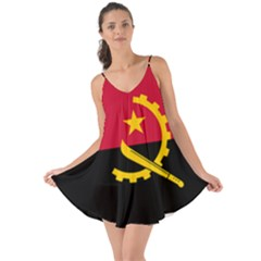 Flag Of Angola Love The Sun Cover Up
