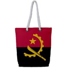 Flag Of Angola Full Print Rope Handle Tote (small)