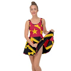 Flag Of Angola Inside Out Casual Dress