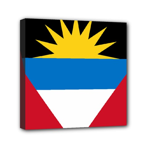 Flag Of Antigua & Barbuda Canvas Travel Bag by abbeyz71