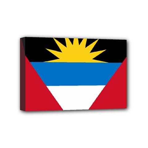 Flag Of Antigua & Barbuda Mini Canvas 6  X 4