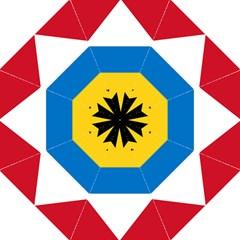 Flag Of Antigua & Barbuda Straight Umbrellas