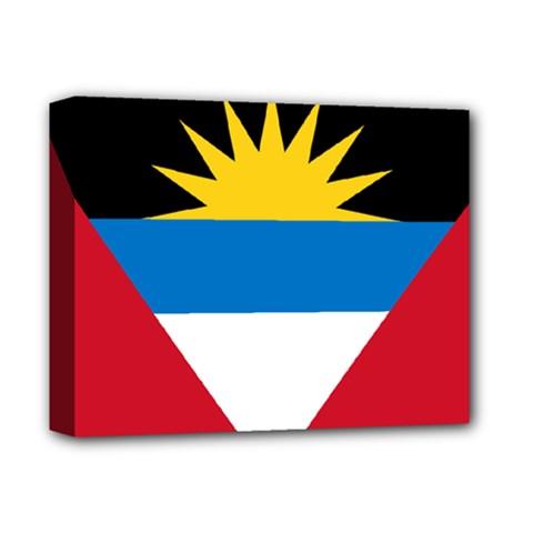 Flag Of Antigua & Barbuda Deluxe Canvas 14  X 11